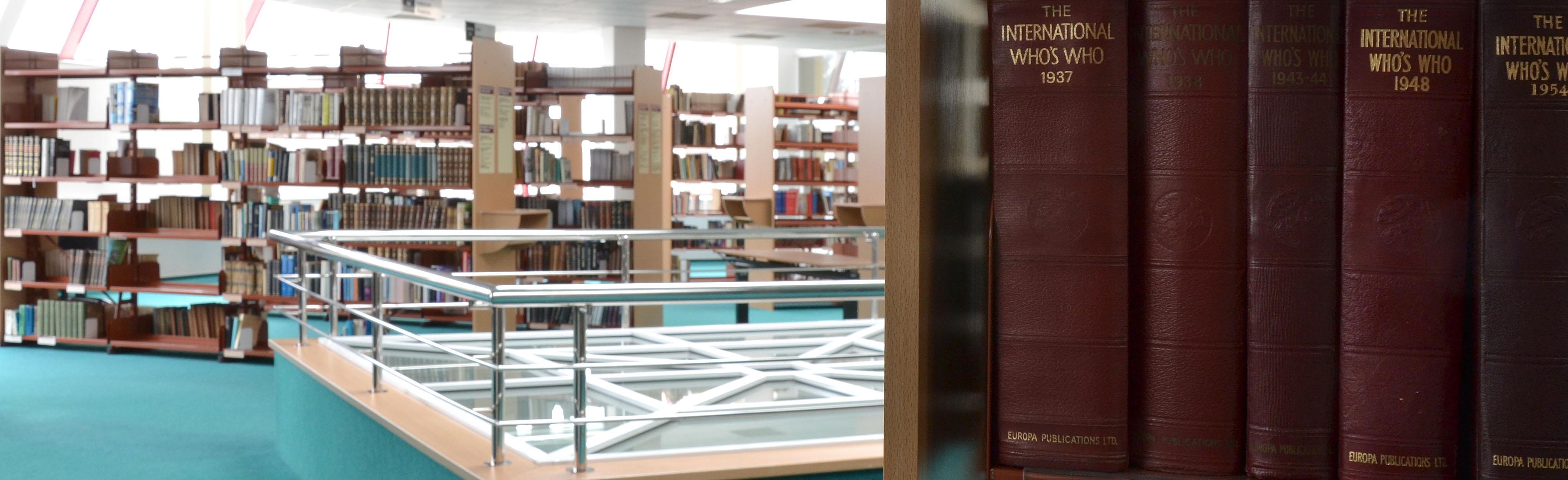 Pohled do knihovny Národního archivu