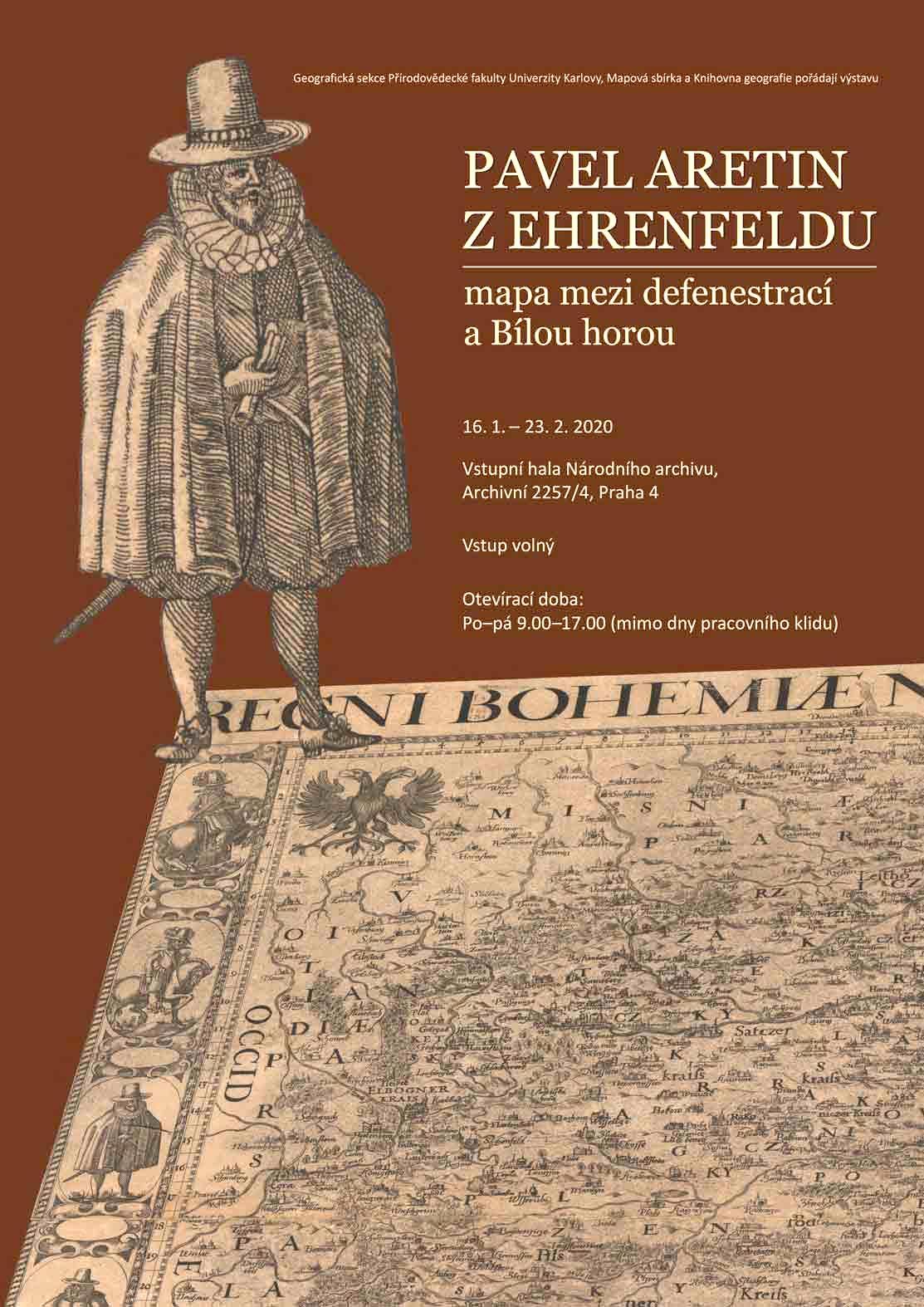 Pavel Aretin z Ehrenfeldu - plakátt