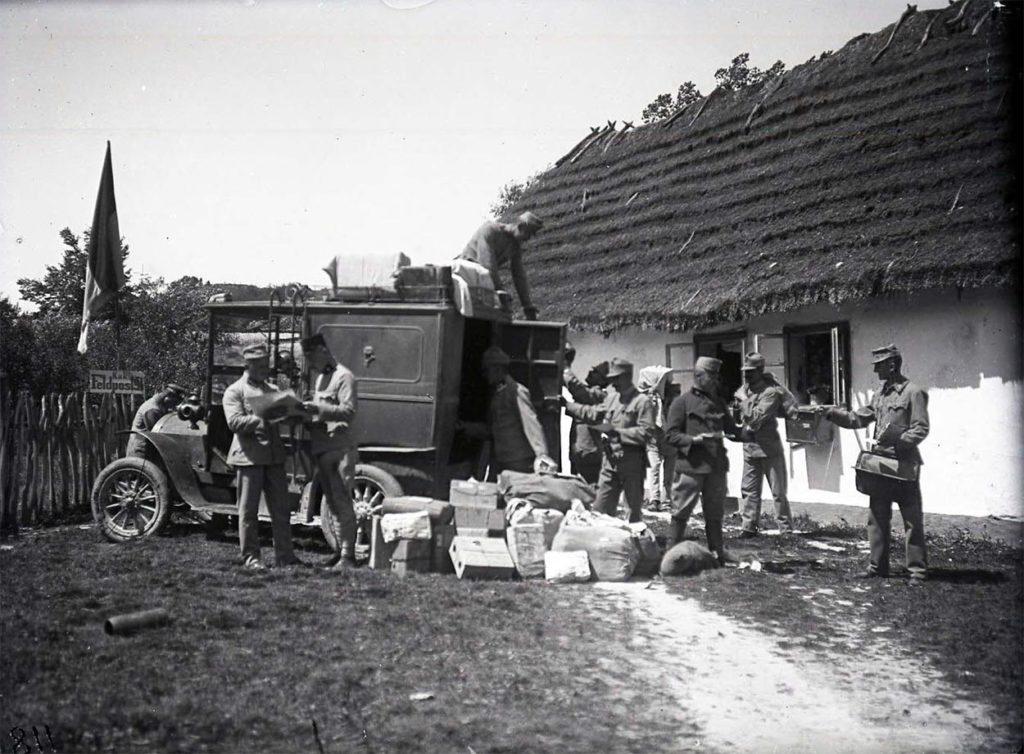 První světová válka - negativy