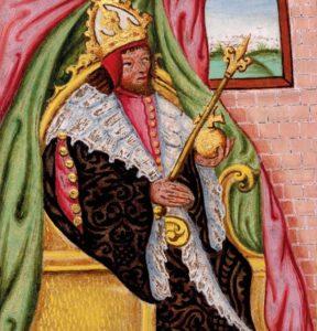 """Karel IV., zvaný """"Otec vlasti"""""""