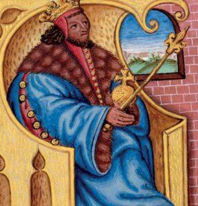 """Přemysl Otakar I., zvaný """"velký král"""", první dědičný král"""