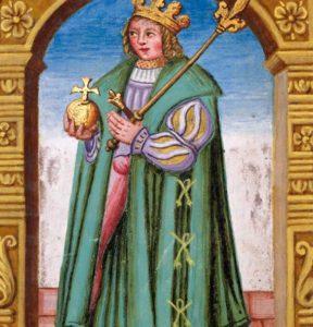 """Václav II., král """"rytíř, básník a mnich"""""""
