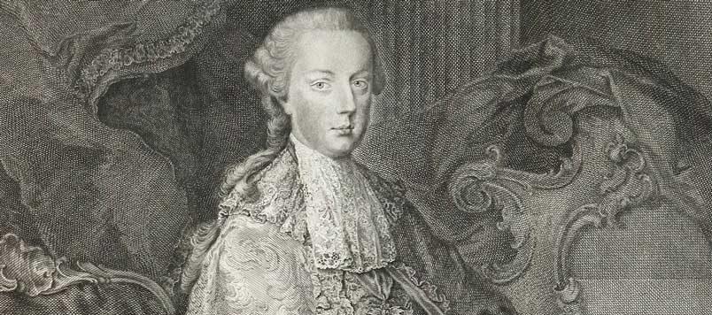Portrét Josefa II. jako císaře Svaté říše římské