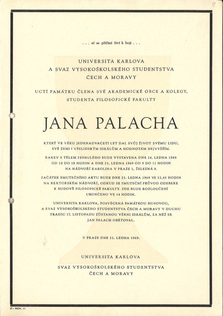 Parte Jana Palacha