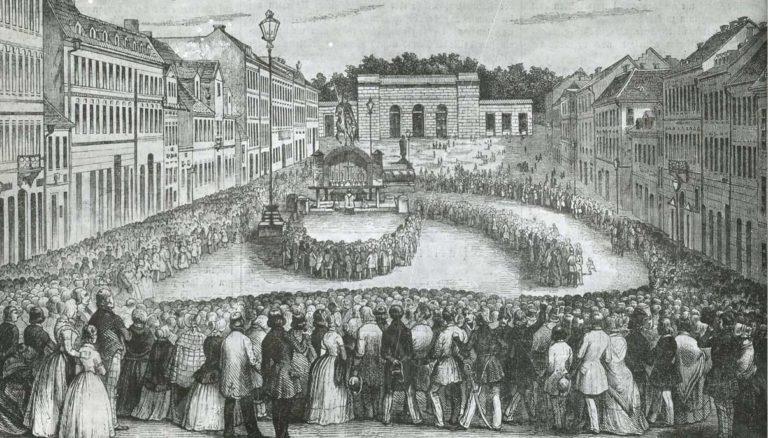Svatováclavská mše 1848.