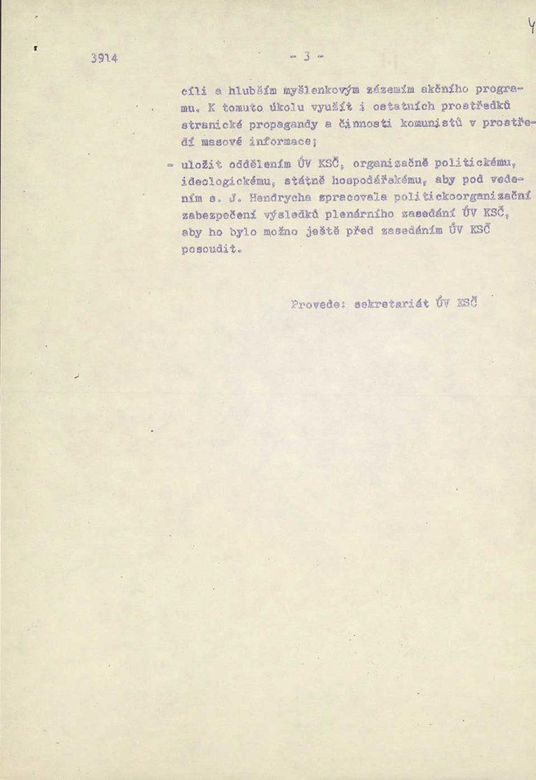 Návrh Akčního programu