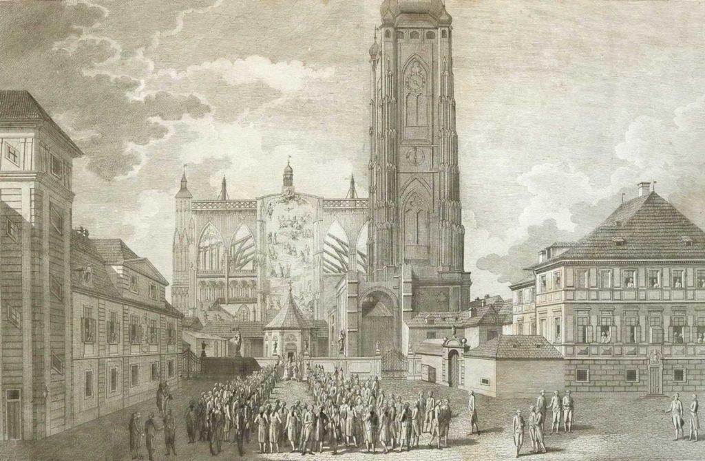 Korunovace Leopolda II. českým králem, 1791, NA, ŘBB-GL, inv. č. 1243