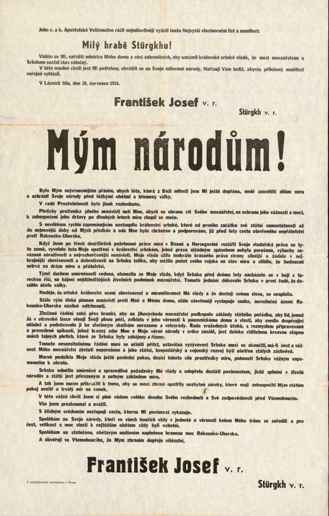 Císařský manifest Mým národům
