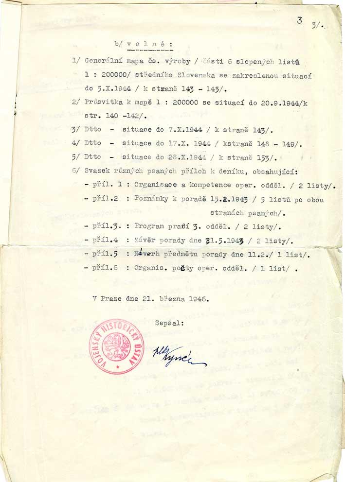 Válečný deník operačního oddělení Štábu pro vybudování branné moci, zprávy o vypuknutí Slovenského národního povstání