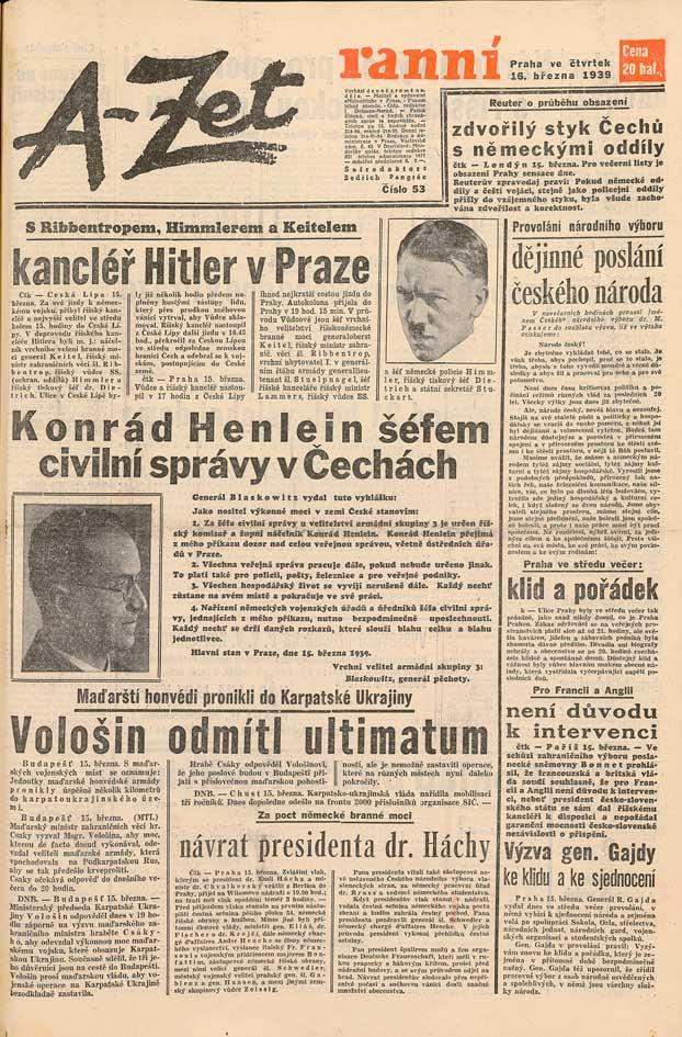 Lidové noviny, zvláštní vydání