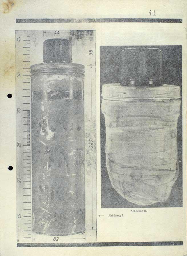 Deutsches Kriminalpolizeiblatt, Jahrg. 15, z 1. a 2. června 1942 (zvl. vydání), s popisem pachatelů a předmětů zajištěných po atentátu na R. Heydricha
