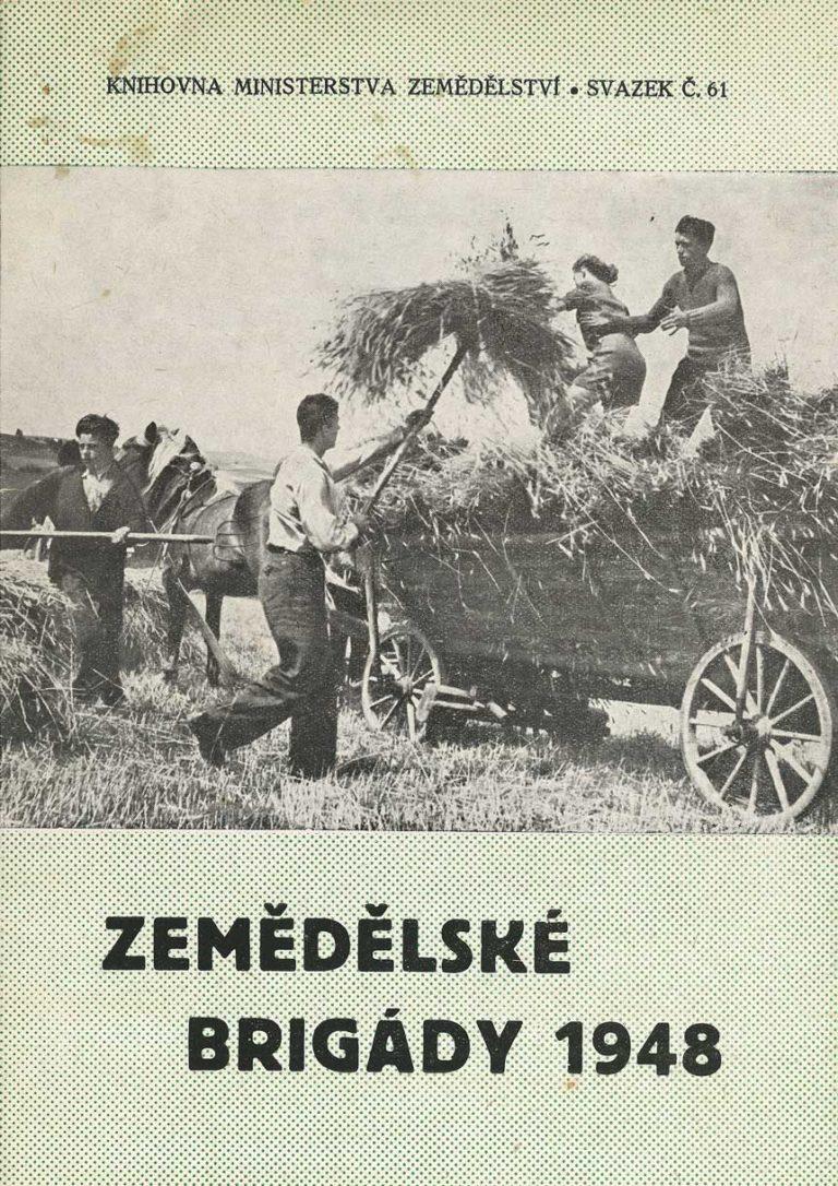 Brožura Zemědělské brigády