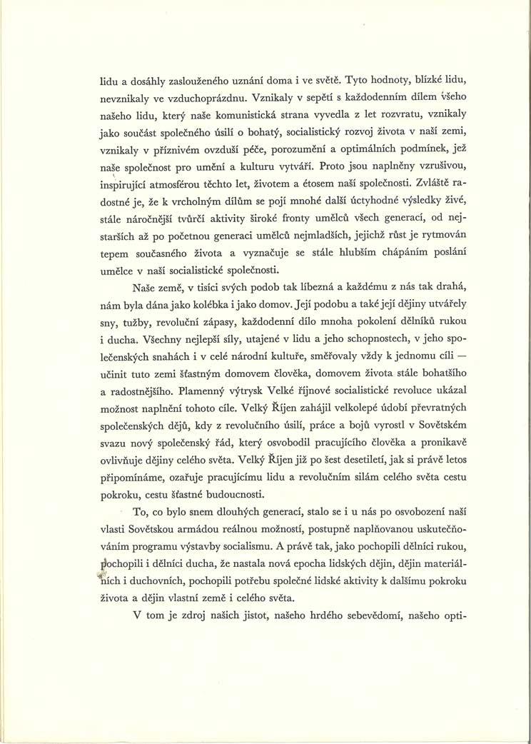 Prohlášení za nové tvůrčí činy ve jménu socialismu a míru (Anticharta)