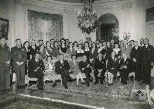 Skupina na Čsl. Vyslanectví, Washington, 1943, 18. květen