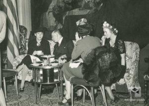 Prezident dr. Beneš na recepci v hotelu Waldorf Astoria, 1943, 20. května