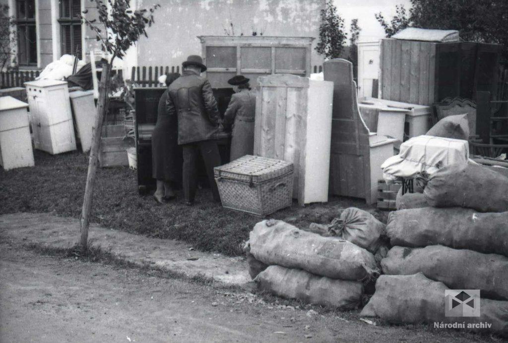 Čeští vystěhovalci zpolského pohraničí
