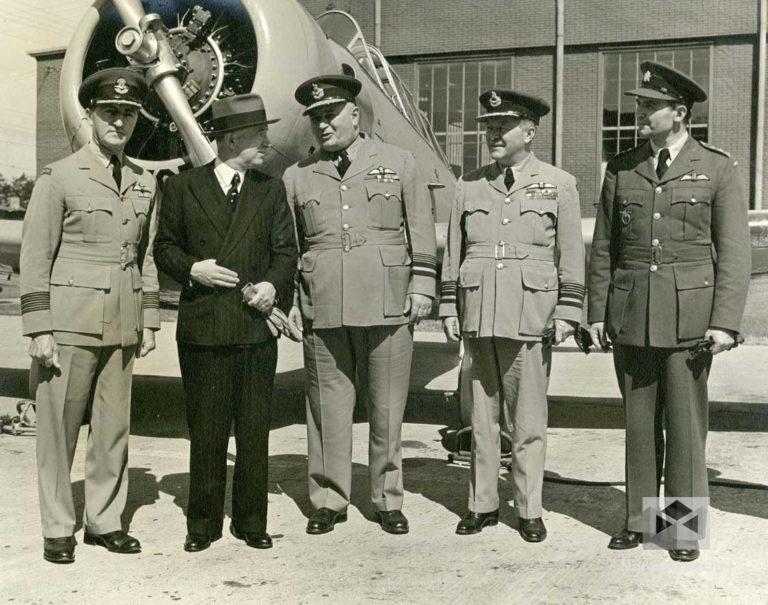 Výcvik československých vojenských letců v Anglii